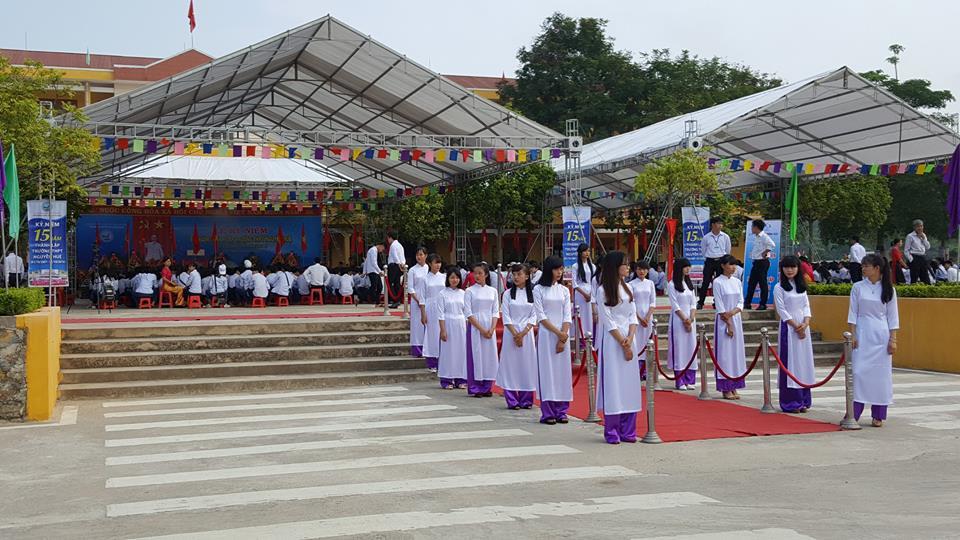 Lễ Kỷ Niệm Thành Lập Trường THPT Nguyễn Huệ