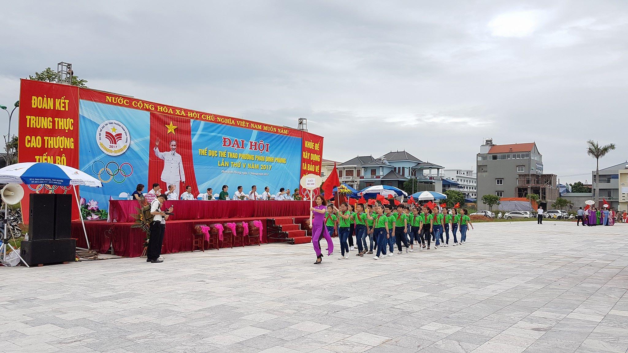Đại hội thể dục thể thao phường Phan Đình Phùng