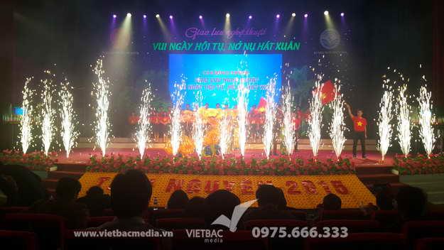 Công Ty Quảng Cáo & Tổ Chức Sự Kiện Việt Bắc Tổ Chức Thành Công Lễ Hội Vui Ngày Hội Nở Nụ Hát Xuân