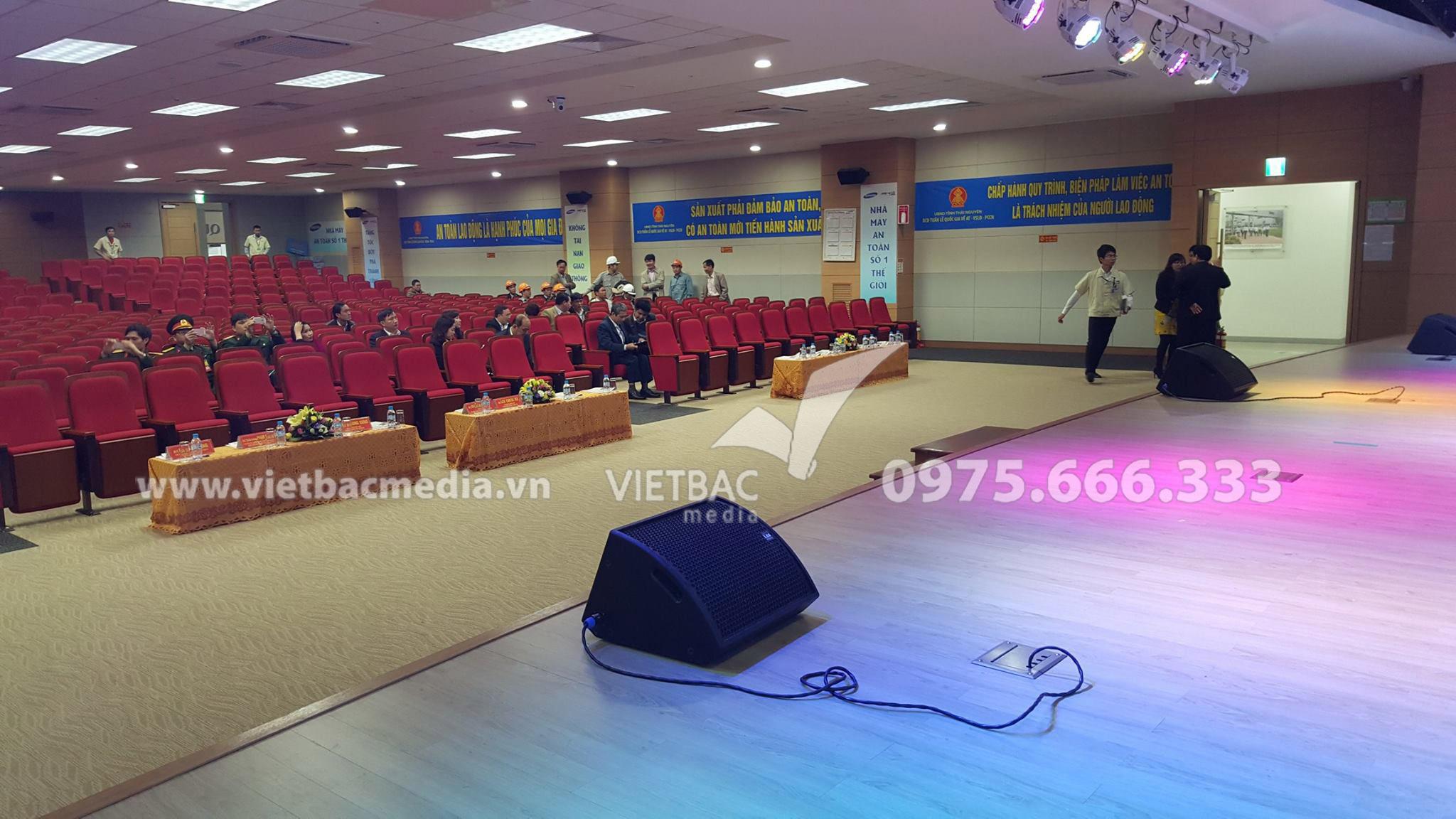 Sự kiện PCCN Tổ chức tại SAMSUNG do Công ty TCSK Việt Bắc thực hiện ngày
