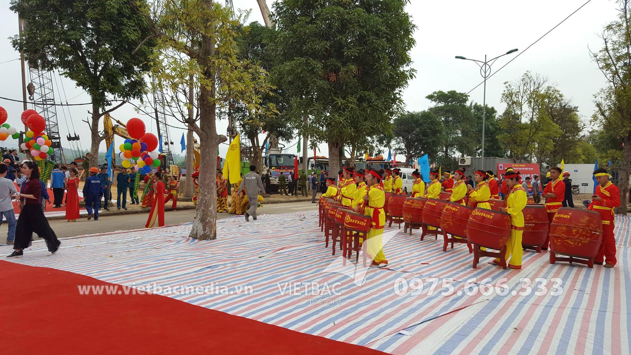 Lễ Công Bố Quy Hoạch Thành phố Thái Nguyên và Khởi công dự án Sông Cầu - Liên danh Tập đoàn Phúc Lộc & Cienco8