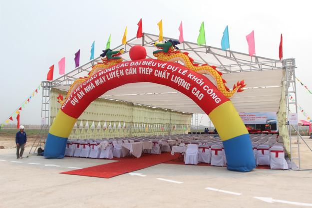 Nhà bạt tổ chức sự kiện tại Thái Nguyên