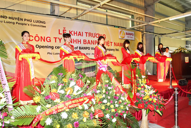 Tổ chức lễ khai trương, ra mắt sản phẩm tại Thái Nguyên