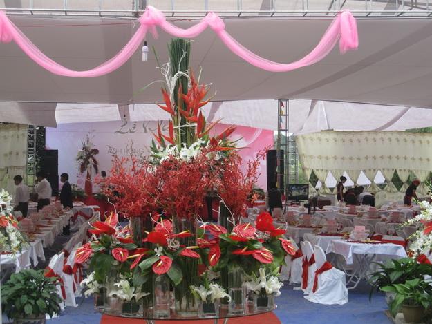 Trang trí, tổ chức tiệc cưới tại Thái Nguyên