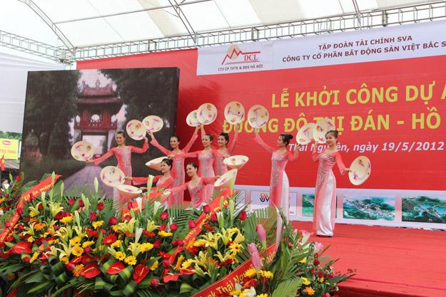 Tổ chức lễ khởi công tại Thái Nguyên